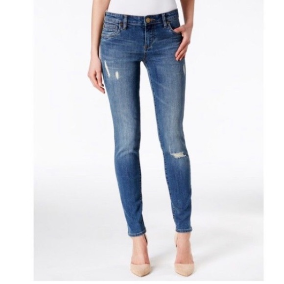 Kut from the Kloth Denim - Women's Size 4 KUT From the Kloth Ankle Blue Jeans